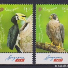 Sellos: 🚩 SINGAPORE 2019 BIRDS - JOINT ISSUE WITH POLAND MNH - BIRDS. Lote 246426210