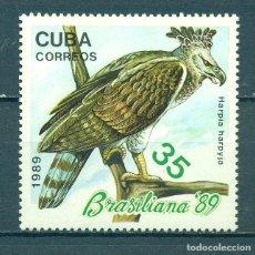 Sellos: ⚡ DISCOUNT CUBA 1989 HARPIA HARPYJA MNH - BIRDS. Lote 253839065