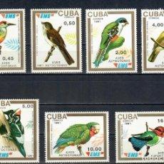 Sellos: ⚡ DISCOUNT CUBA 1991 BIRDS MNH - BIRDS. Lote 253839480