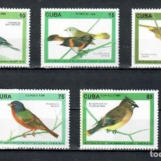 Sellos: ⚡ DISCOUNT CUBA 1996 THE 100TH ANNIVERSARY OF THE DEATH OF JUAN GUNDLACH, ORNITHOLOGIST MNH. Lote 253840275