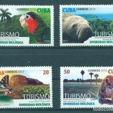 Sellos: ⚡ DISCOUNT CUBA 2010 TOURISM - NATIONAL PARKS MNH - BIRDS, FAUNA, TOURISM, BUTTERFLIES. Lote 253843250
