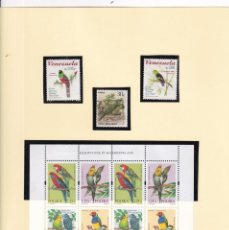Timbres: LOTE 200 SELLOS AVES. VER FOTOS HB, CARNETS. Lote 254952215