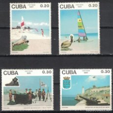 Sellos: ⚡ DISCOUNT CUBA 1991 TOURISM MNH - BIRDS, WEAPON, TOURISM, FORTRESSES. Lote 255627190