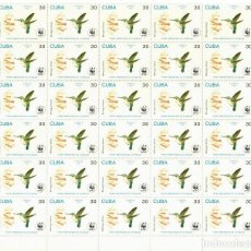 Sellos: ⚡ DISCOUNT CUBA 1992 THE BEE HUMMINGBIRD MNH - BIRDS. Lote 255652815