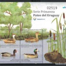Sellos: ⚡ DISCOUNT URUGUAY 2018 DUCKS FROM URUGUAY MNH - BIRDS, DUCKS. Lote 255655820