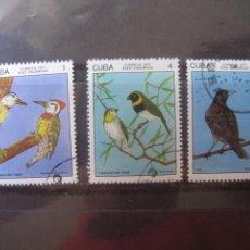 Sellos: *CUBA, 1977, PAJAROS DE CUBA.. Lote 255983205