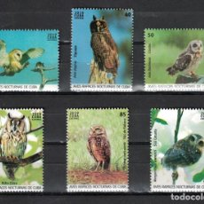 Sellos: ⚡ DISCOUNT CUBA 2019 BIRDS - OWLS MNH - BIRDS, OWLS. Lote 257573575