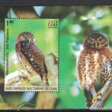 Sellos: ⚡ DISCOUNT CUBA 2019 BIRDS - OWLS MNH - BIRDS, OWLS. Lote 257573590