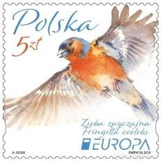Sellos: ⚡ DISCOUNT POLAND 2019 NATIONAL BIRDS MNH - BIRDS. Lote 262869715