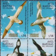 Sellos: ⚡ DISCOUNT URUGUAY 2004 SEA BIRDS MNH - BIRDS. Lote 265523554