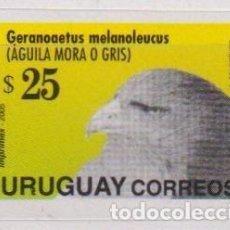 Sellos: ⚡ DISCOUNT URUGUAY 2005 BIRD - AGUILA MORA MNH - BIRDS. Lote 265524199