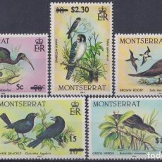 Sellos: F-EX26198 MONTSERRAT MNH 1984 SURCHARGE BIRD AVES PAJAROS OISEAX VÖGEL.. Lote 270229758