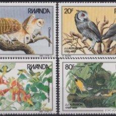 Sellos: F-EX26309 RWANDA MNH 1985 BIRD AVES PAJAROS OISEAX VÖGEL.. Lote 270229798