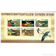 Sellos: ⚡ DISCOUNT CUBA 2002 INTERNATIONAL STAMP EXHIBITION ESPANA 2002 - SALAMANCA, SPAIN MNH - BIR. Lote 270388828