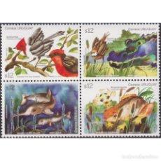 Sellos: ⚡ DISCOUNT URUGUAY 2012 SPRING - FLORA & FAUNA MNH - FLORA, BIRDS, FAUNA, FISH, CROCODILES,. Lote 270391258