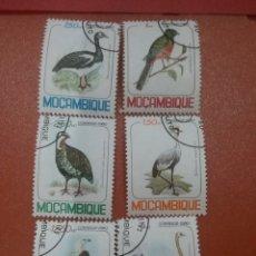 Timbres: SELLO MOZAMBIQUE MTDO/1980/AVES/PAJAROS/ANIMALES/GARZA/AVESTRUZ/PATO/AGUILA/PERDIZ/LEER DESCRIPCION. Lote 274428173