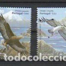 Sellos: PORTUGAL ** & EDICIÓN CONJUNTA PORTUGAL E IRÁN, FAUNA, ÁGUIAS 2009 (3444). Lote 278931818