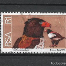 Selos: SELLO SUDAFRICA AVES - 19/42. Lote 287693463