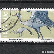 Selos: SELLO SUDAFRICA AVES - 19/42. Lote 287693518