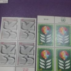 Sellos: SELLO NACIONES UNIDAS (VIENA) NUEVOS/1980/35ANIV/NACIONES/UNIDAS/PALOMA/AVE/PAJARO/GLOBO/SIMBOLO/ANI. Lote 288071483