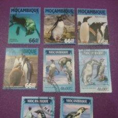 Sellos: SELLOS R. MOZAMBIQUE MTDOS/2014/16/PINGÜINO/ANIMALES/SALVAJES/POLARES/AVES/PAJARO/FAUNA/MARINA/VIDA. Lote 289718983