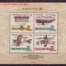 Sellos: HUNGRIA HB 63*** - AÑO 1967 - MEDIOS DE TRANSPORTE AEREOS - AVIACION. Lote 25188455