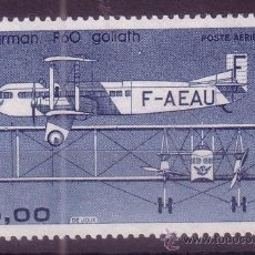 Sellos: FRANCIA AÉREO 57* - AÑO 1984 - AVIÓN BIMOTOR FARMAN F60 GOLIATH. Lote 19047696