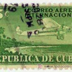 Sellos: CUBA 1950 - CORREO AEREO INTERNACIONAL. Lote 15919161