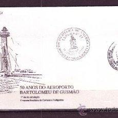 Sellos: BRASIL SPD 1820 - AÑO 1986 - 50º ANIVERSARIO DEL AEROPUERTO BARTOLOMEU DE GUSMAO - AVIACION. Lote 19110807
