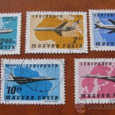 Sellos: 1977 HUNGRIA, AVIONES, CORREO AEREO. Lote 31129514