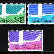 Sellos: SAN MARINO AEREO 140/42** - AÑO 1974 - AVIONES - HOMENAJE A LOS PIONEROS DEL VUELO SIN MOTOR. Lote 40927778