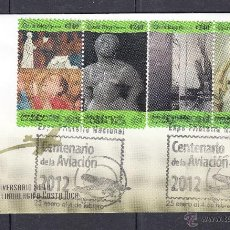 Sellos: COSTA RICA. 2012 EXPOSICIÓN FILATELICA CENTENARIO DE LA AVIACION. Lote 44876803