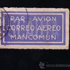 Sellos: SCADTA. SOCIEDAD COLOMBO-ALEMANA DE TRANSPORTE AÉREO.PRE AVIANCA.SELLO PAR AVION.CORREO AÉREO.USADO. Lote 47962435