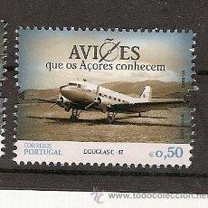 Sellos: PORTUGAL ** & AVIONES QUE AZORES CONOCEN, LOCKHEED CONSTELLATION 2014 (6665). Lote 269326403