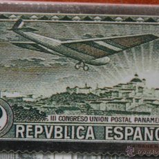 Sellos: SELLO TROQUELADO DE METAL CALCOGRAFIA: CORREO AEREO – NUEVO – FICHA TECNICA HISTORIA - POSTAL . Lote 52487422