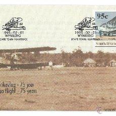 Sellos: SUDAFRICA 75 AÑOS SOUTH AFRICAN AIRFORCE 1/2/1995, 2 SOBRES PRIMER DÍA. Lote 52659725