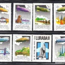 Sellos: HUNGRIA AEREO 443/49** - AÑO 1981 - AVIONES - ZEPPELIN - HISTORIA DE LA AVIACION. Lote 113884579
