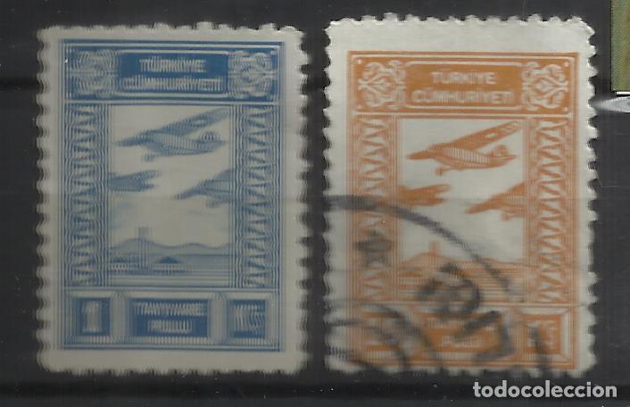 Q657-SELLOS RAROS TURQUIA 1910 CINDERELLAS REVENUE FISCALES VIÑETAS VIGNETTE VIGNETTEN CLASSIC,AVIAC (Sellos - Temáticas - Aviones)