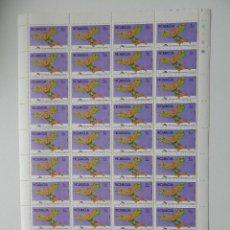 Sellos: PLIEGO. NICARAGUA, 29.09.1978 - 75 ANIVERSARIO HERMANOS WRIGHT. Lote 86722744