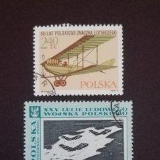 Sellos: POLONIA AVIONES USADOS. Lote 89501272