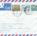 Sellos: 1993. SUDÁFRICA/SOUTH AFRICA. SOBRE CIRCULADO CON SELLOS DE AVIONES. PLANES. AVIACIÓN/AVIATION.. Lote 112030875