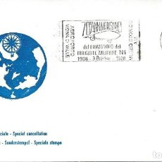 Sellos: 1978. ITALIA/ITALY. RODILLO/SLOGAN. 70º ANIV. 1º VUELO DIRIGIBLE MILITAR N1. AIRSHIP. AVIATION.. Lote 112598003