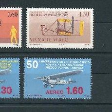 Sellos: LOTE MÉJICO AVIONES 1978 1998 NUEVOS. Lote 112932851