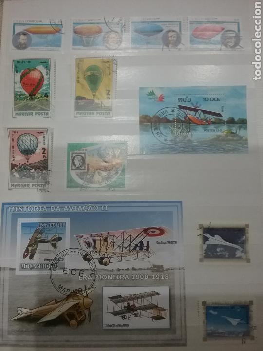 Sellos: SOBRE-VUELA (I). Clasificador Tematico Aviacion. Dirigibles. Globos. Aviones. Hay Que verlo! - Foto 4 - 114124218