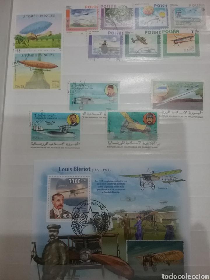 Sellos: SOBRE-VUELA (I). Clasificador Tematico Aviacion. Dirigibles. Globos. Aviones. Hay Que verlo! - Foto 5 - 114124218