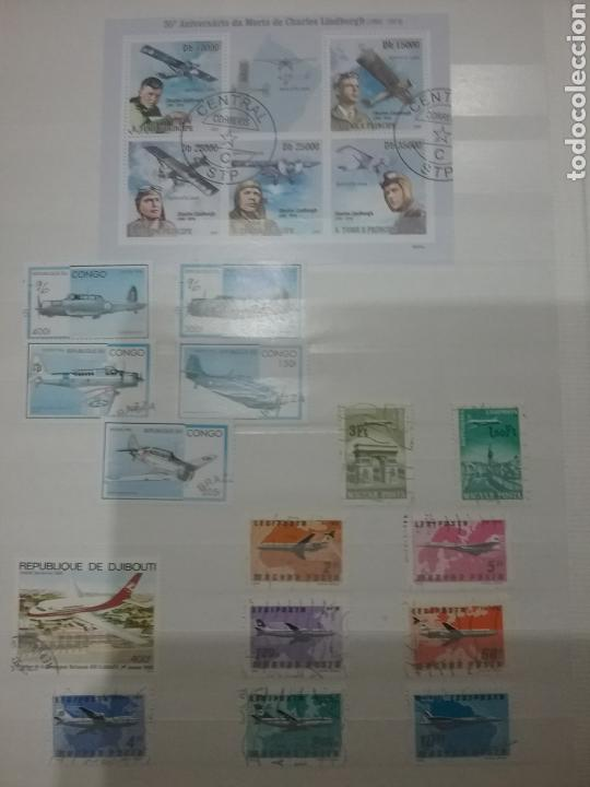 Sellos: SOBRE-VUELA (I). Clasificador Tematico Aviacion. Dirigibles. Globos. Aviones. Hay Que verlo! - Foto 6 - 114124218