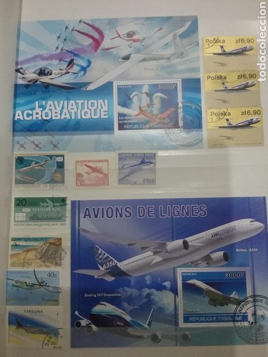 Sellos: SOBRE-VUELA (I). Clasificador Tematico Aviacion. Dirigibles. Globos. Aviones. Hay Que verlo! - Foto 9 - 114124218