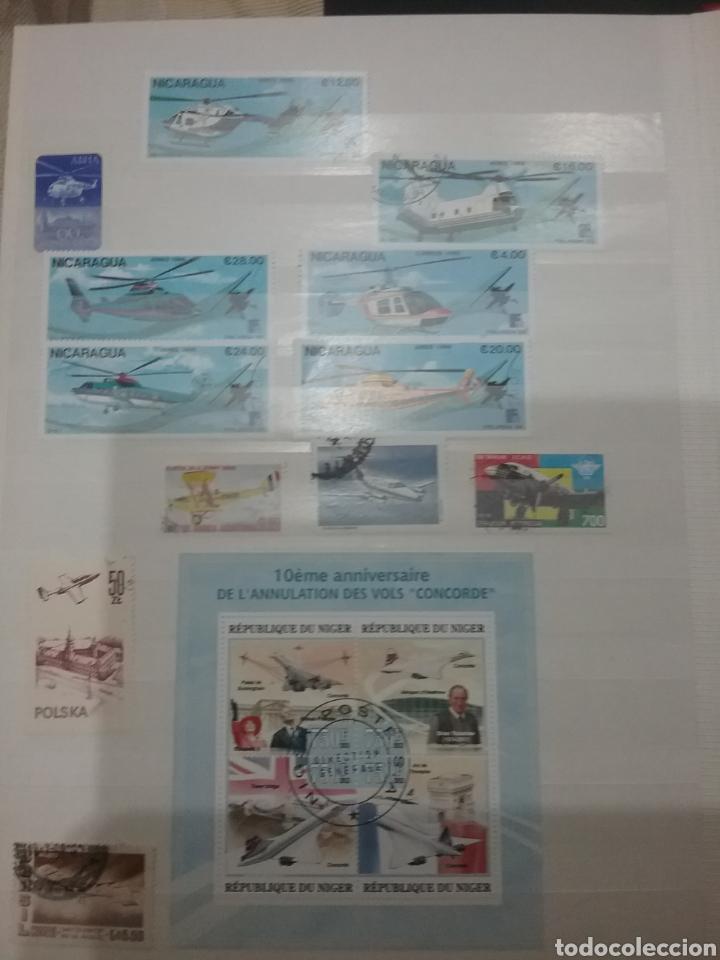 Sellos: SOBRE-VUELA (I). Clasificador Tematico Aviacion. Dirigibles. Globos. Aviones. Hay Que verlo! - Foto 10 - 114124218