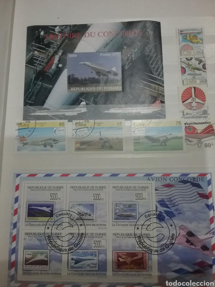 Sellos: SOBRE-VUELA (I). Clasificador Tematico Aviacion. Dirigibles. Globos. Aviones. Hay Que verlo! - Foto 11 - 114124218