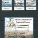 Sellos: SELLOS NORFOLK ISLAND 2003** 100TH ANNIVERSARY OF POWERED FLIGHT . Lote 116169163